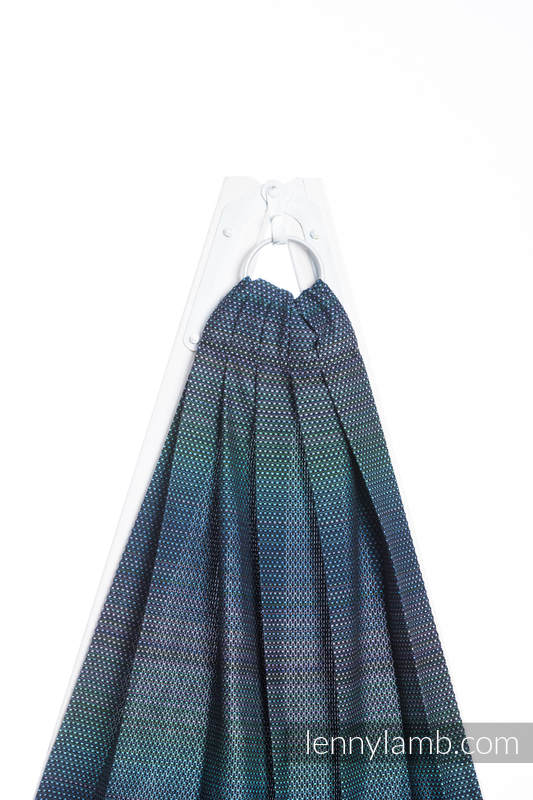 Ringsling, Pearl Weave (100% cotton) - LITTLE PEARL - CHAMELEON - long 2.1m #babywearing