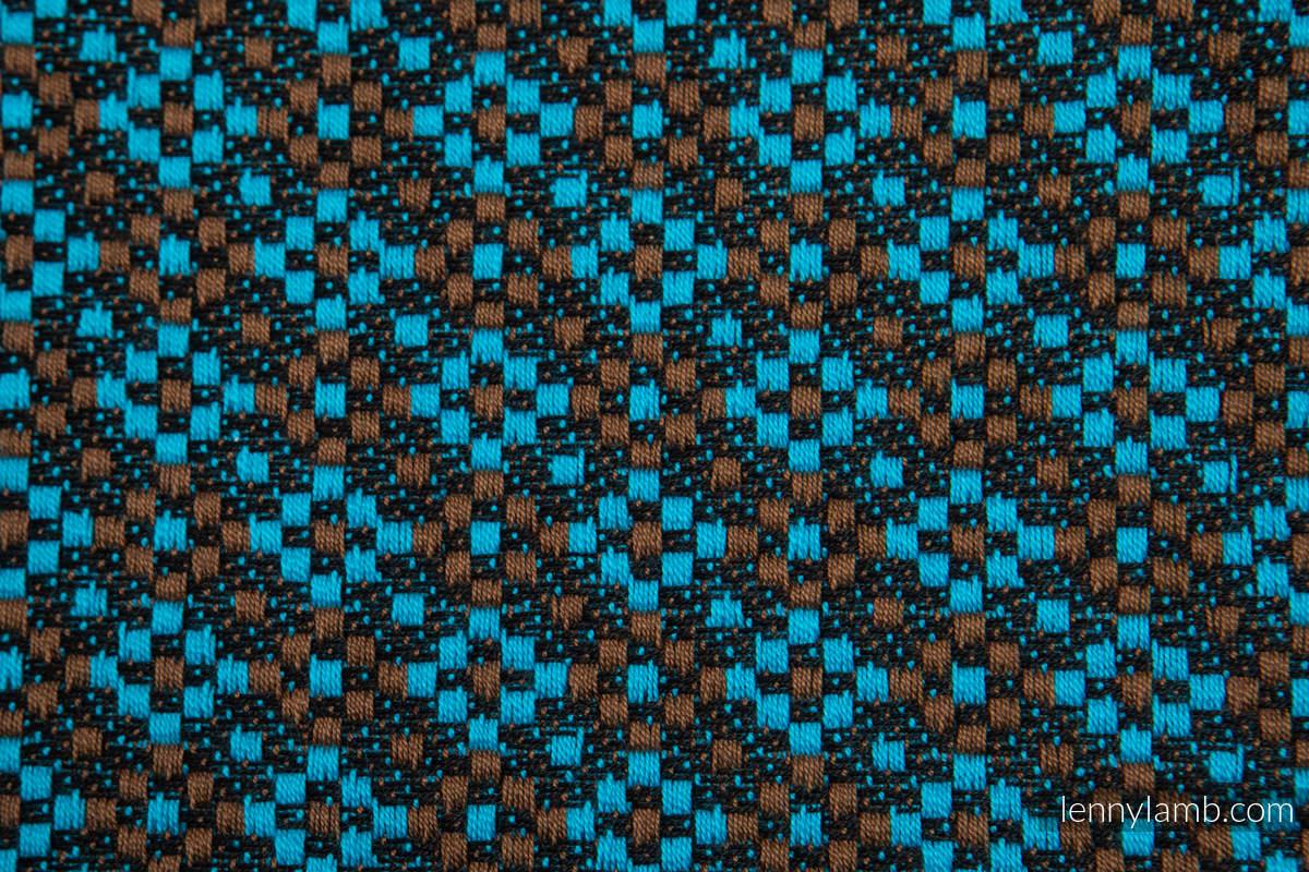 Fular, tejido jacquard (100% algodón) - CAMELOT - talla S #babywearing
