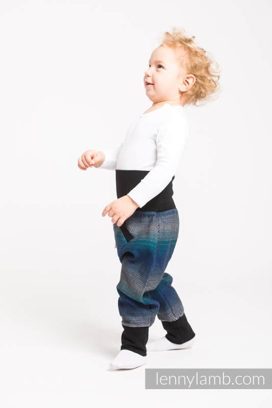 LennyBaggy - rozmiar 62 - Mała Jodełka Iluzja z Czarnym #babywearing