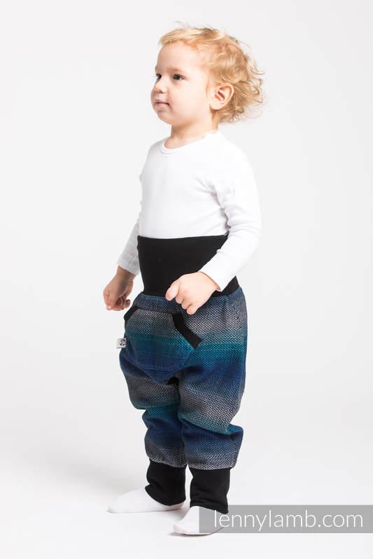 LennyBaggy - rozmiar 68 - Mała Jodełka Iluzja z Czarnym #babywearing