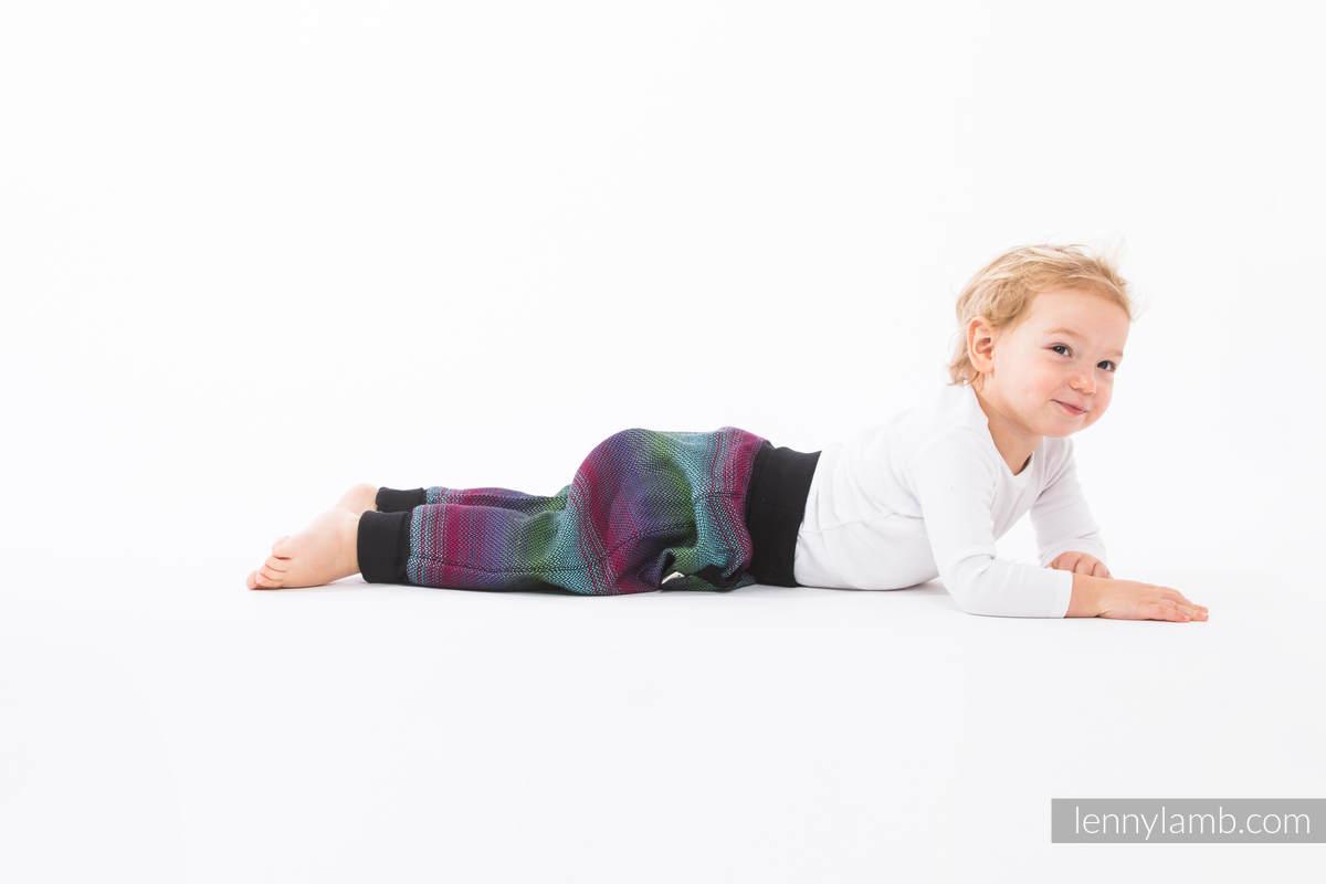 LennyBaggy - size 62 - Little Herringbone Impression Dark & Black #babywearing