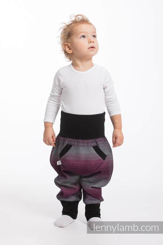 LennyBaggy - rozmiar 68 - Mała Jodełka Inspiracja z Czarnym #babywearing