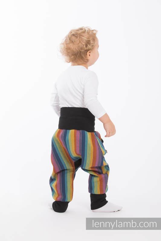 LennyBaggy - rozmiar 86 - Paradiso Bawełna z Czarnym #babywearing
