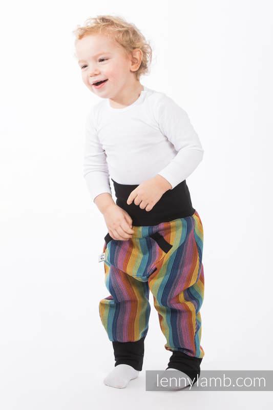 LennyBaggy - size 74 - Paradiso Cotton & Black #babywearing