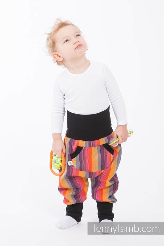 LennyBaggy - rozmiar 62 - Tropikana Bawełna z Czarnym #babywearing