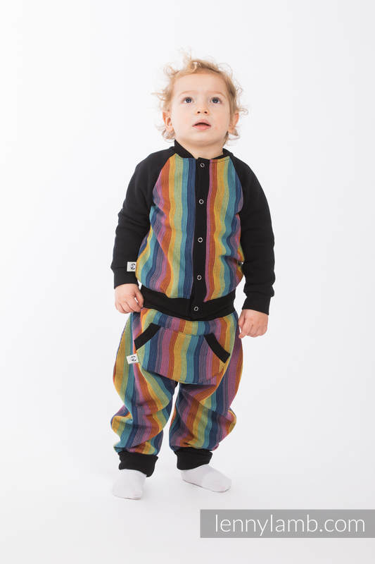 Children sweatshirt LennyBomber - size 74 - Paradiso Cotton #babywearing