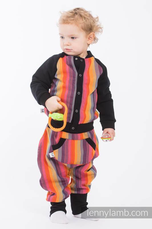 LennyBomber - talla 68 - Rainbow Red Cotton #babywearing