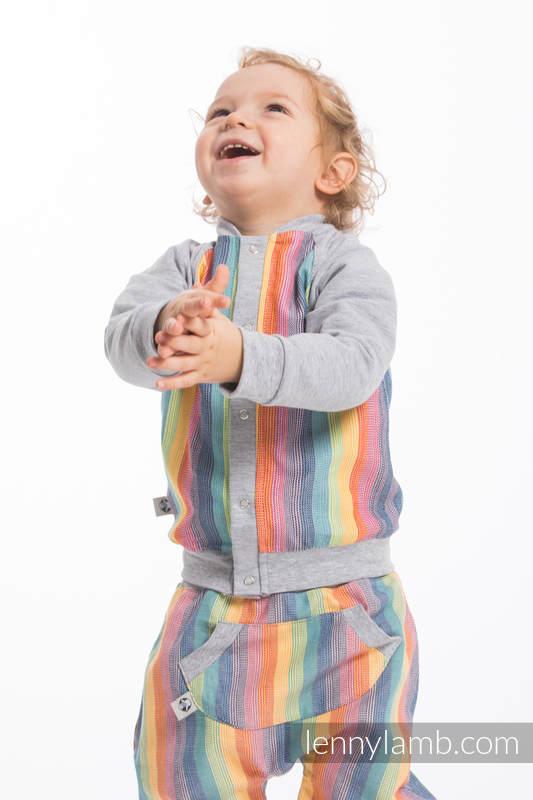 LennyBomber - Größe 62 - Luna mit Grau (grad B) #babywearing