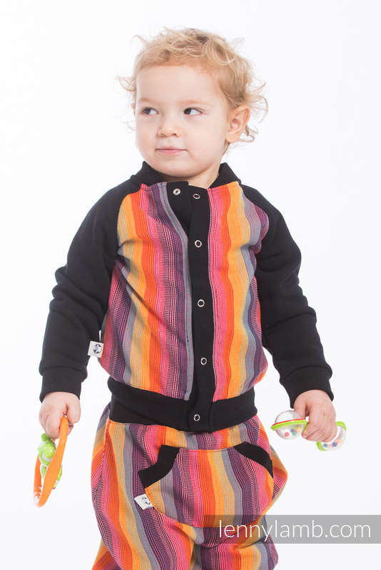 LennyBomber - Größe 92 - Rainbow Red Cotton #babywearing