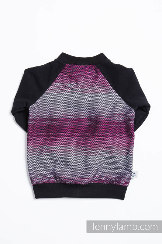 Children sweatshirt LennyBomber - size 74 - Little Herringbone Inspiration #babywearing