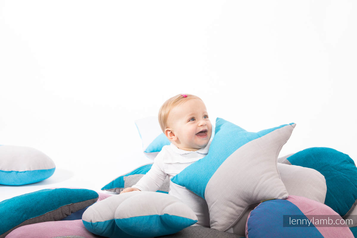 LennyLullaby Chmurka - Fluoryt #babywearing