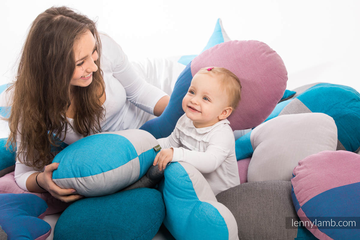 LennyLullaby Heart - Fluorite #babywearing