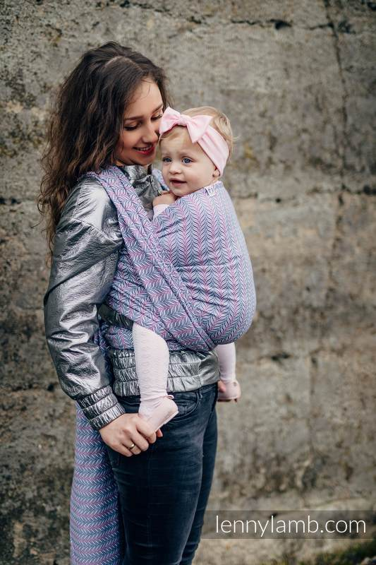 Fular, tejido jacquard (100% algodón) - YUCCA - CHILLOUT / PRE-ORDER - talla S #babywearing