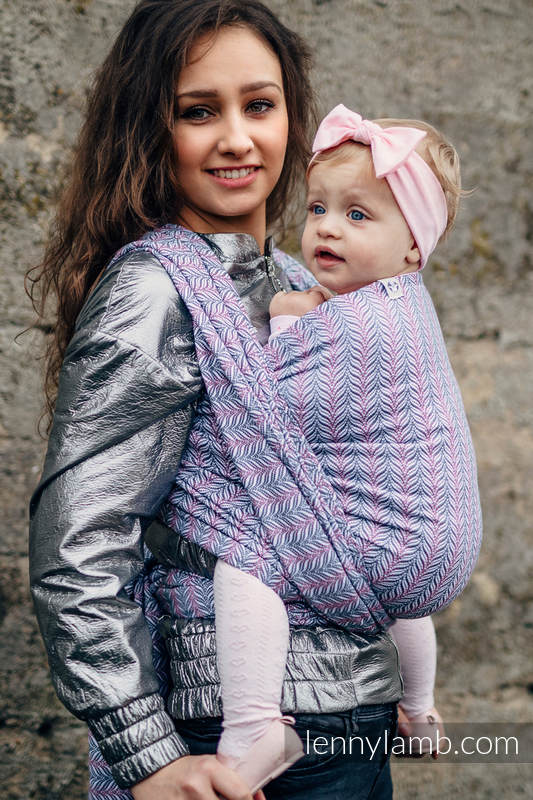 Fular, tejido jacquard (100% algodón) - YUCCA - CHILLOUT / PRE-ORDER - talla XS #babywearing