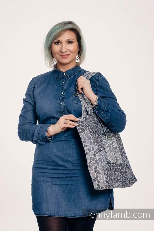 Torba na ramię z materiału chustowego, (100% bawełna) - KOLORY TAJEMNICY - uniwersalny rozmiar 37cmx37cm #babywearing