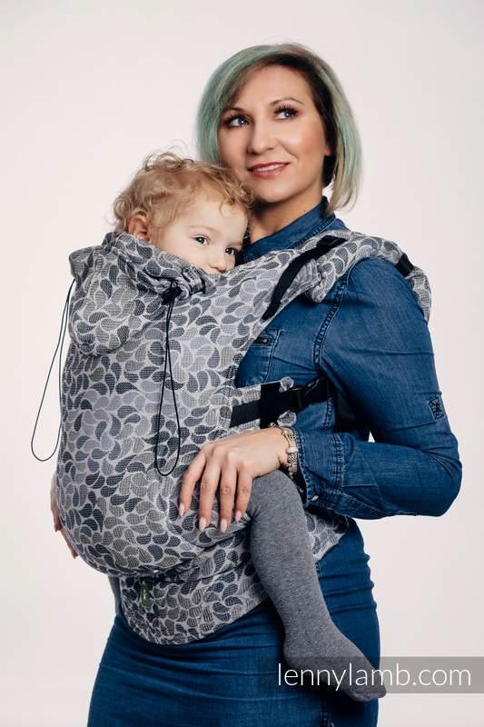 Nosidełko Ergonomiczne z tkaniny żakardowej 100% bawełna , Baby Size, KOLORY TAJEMNICY - Druga Generacja #babywearing