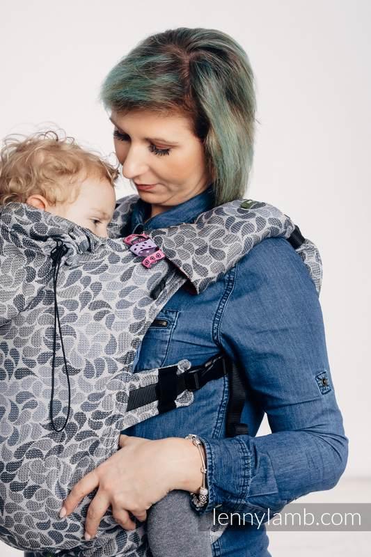 Nosidełko Ergonomiczne z tkaniny żakardowej 100% bawełna , Toddler Size, KOLORY TAJEMNICY - Druga Generacja #babywearing