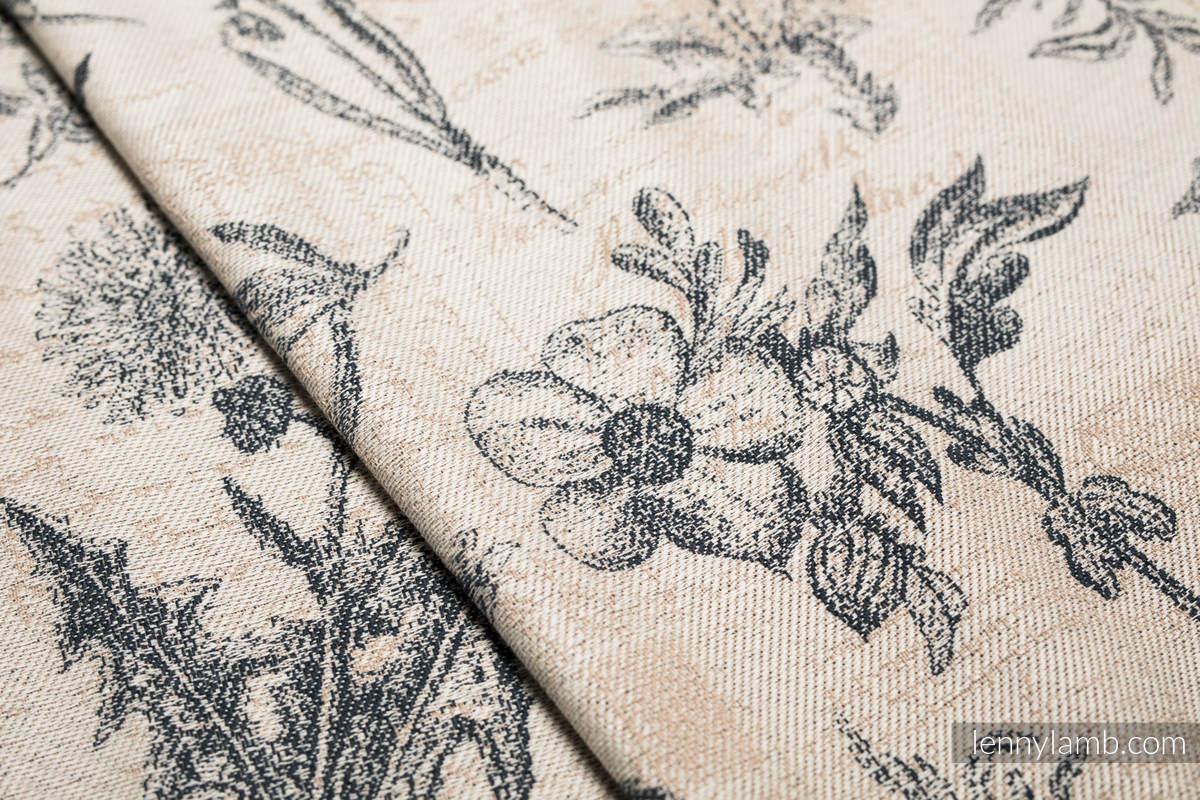 Baby Wrap, Jacquard Weave (100% cotton) - HERBARIUM - size XL #babywearing