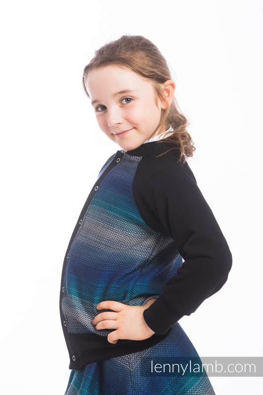 LennyBomber - Größe 116 - Little Herringbone Illusion #babywearing