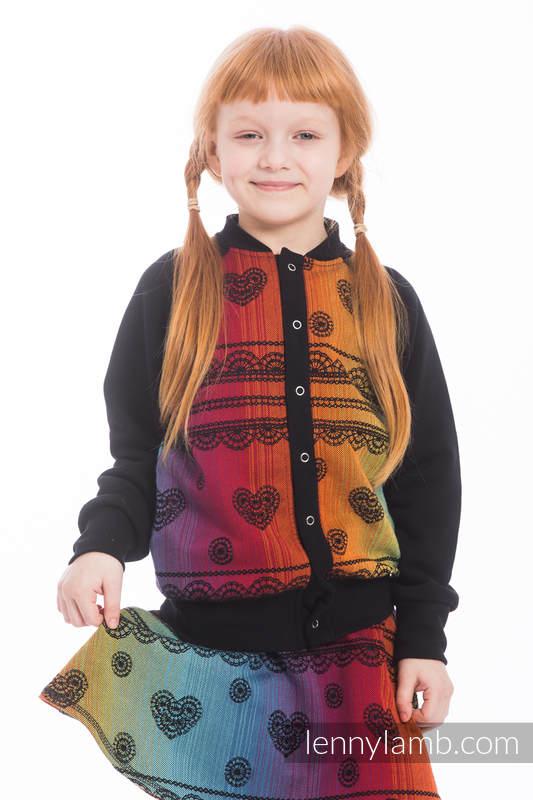 LennyBomber - Größe 110 - Rainbow Lace Dark #babywearing