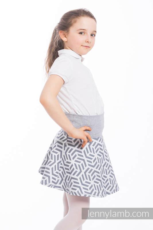 LennySkirt - size 110 - Pearl & Grey #babywearing