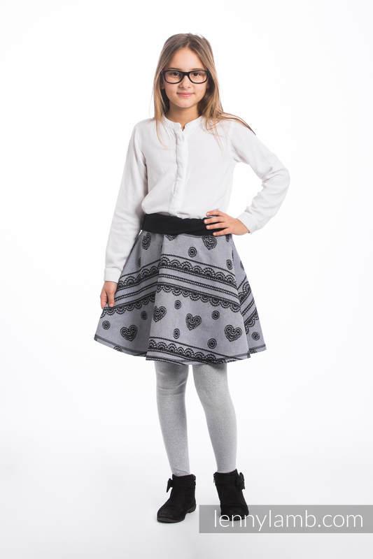 LennySkirt - Größe 116 - Glamorous Lace Reverse #babywearing