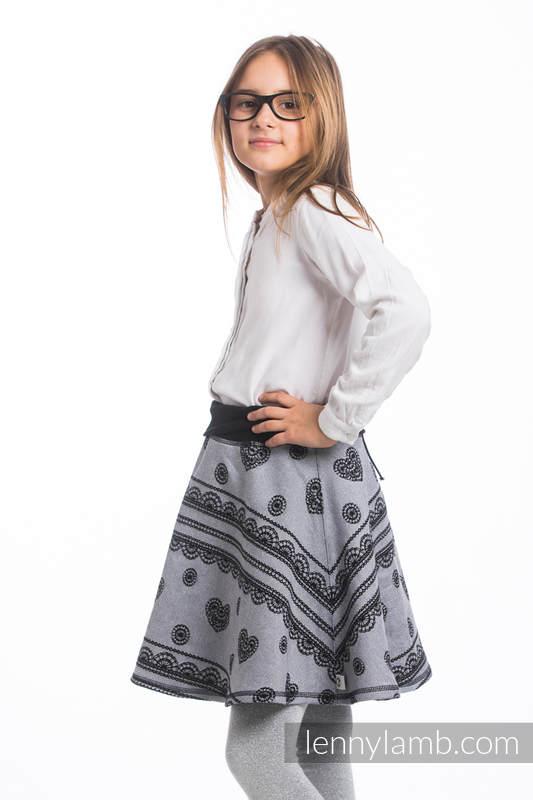 LennySkirt - talla 104 - Glamorous Lace Reverse  #babywearing