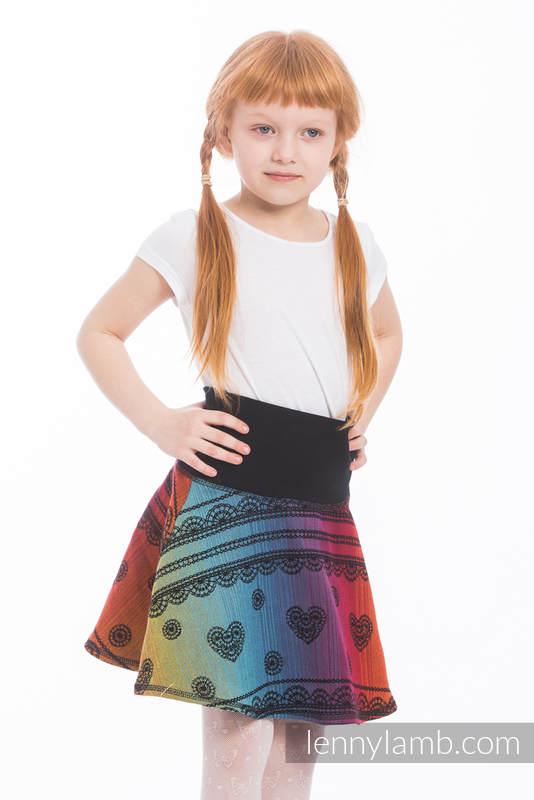 LennySkirt - talla 110 - Rainbow Lace Dark #babywearing