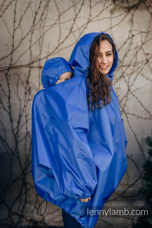 Babywearing Raincoat - size 2XL/3XL - Blue #babywearing