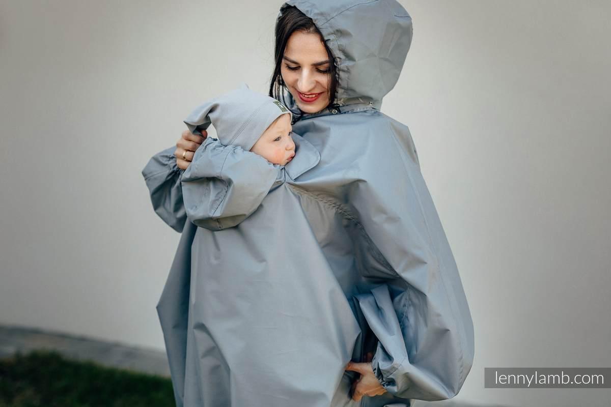 Babywearing Raincoat - size L/XL - Grey #babywearing