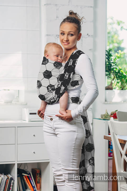 Baby Wrap, Jacquard Weave (100% cotton) - FAIR PLAY - size S #babywearing