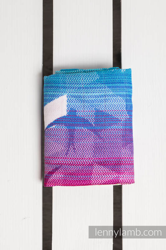 Musiln Square - SWALLOWS RAINBOW LIGHT #babywearing