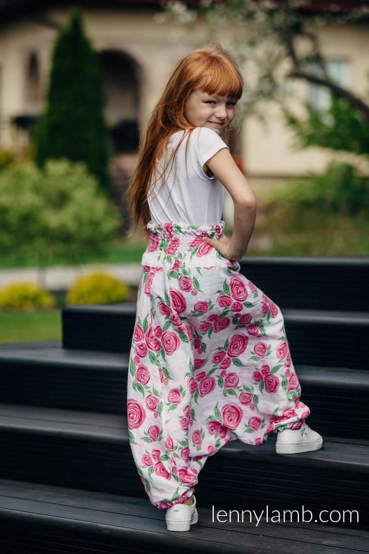 LennyAladdin Bambú para niños - talla 122 - ROSE BLOSSOM #babywearing