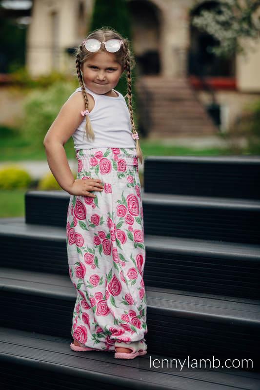 LennyAladdin Bambú para niños - talla 128 - ROSE BLOSSOM #babywearing