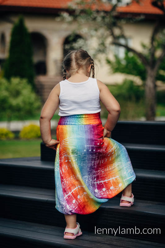 LennyAladdin bamboo for kids - size 158 - SYMPHONY RAINBOW LIGHT #babywearing