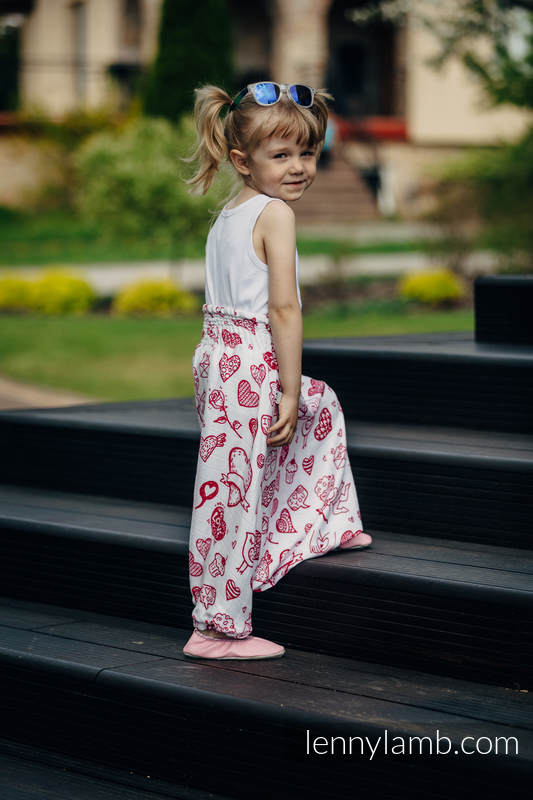 LennyAladdin bamboo for kids - size 104 - SWEET NOTHINGS #babywearing