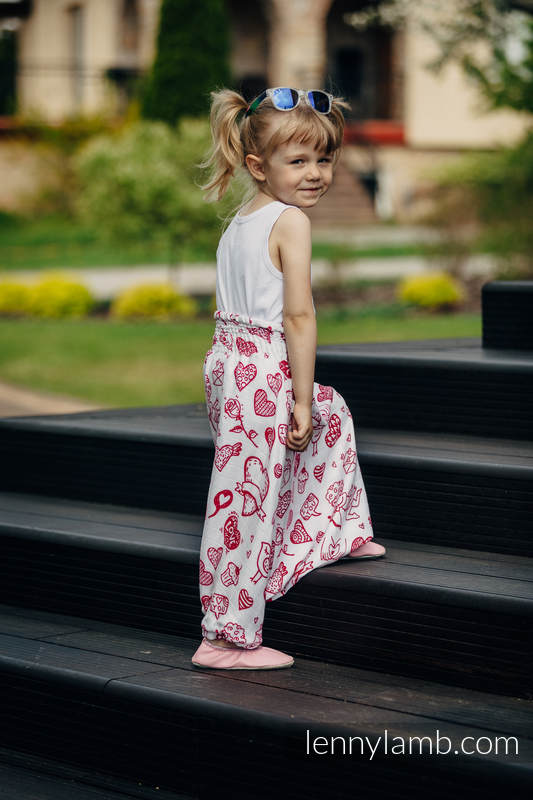 LennyAladdin bamboo for kids - size 110 - SWEET NOTHINGS #babywearing