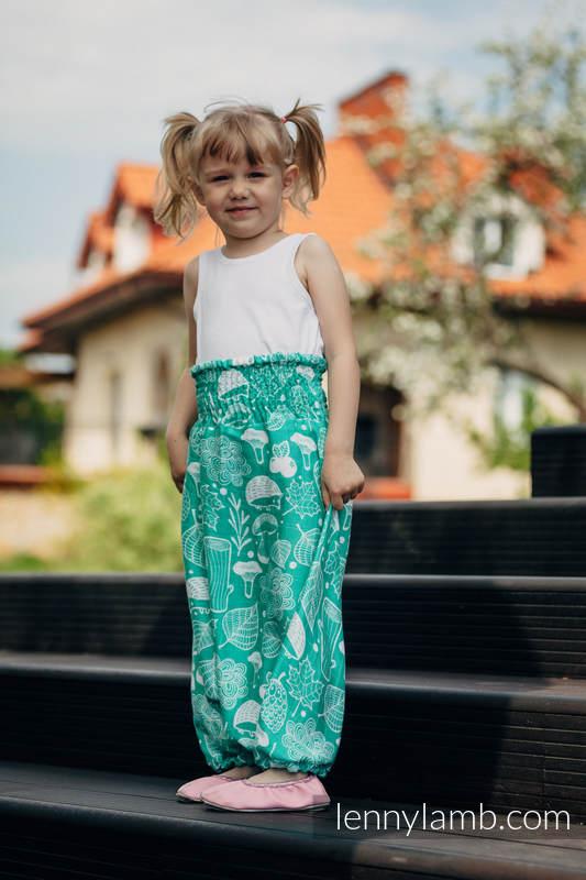 LennyAladdin bambusowe dla dzieci - rozmiar 104 - POD LIŚCIEM #babywearing