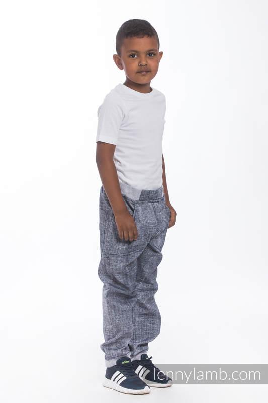 LennyJogger - size 116 - Denim Blue & Grey #babywearing