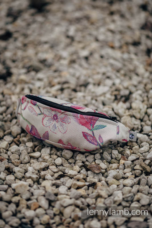 Waist Bag made of woven fabric, (100% cotton) - MAGNOLIA #babywearing