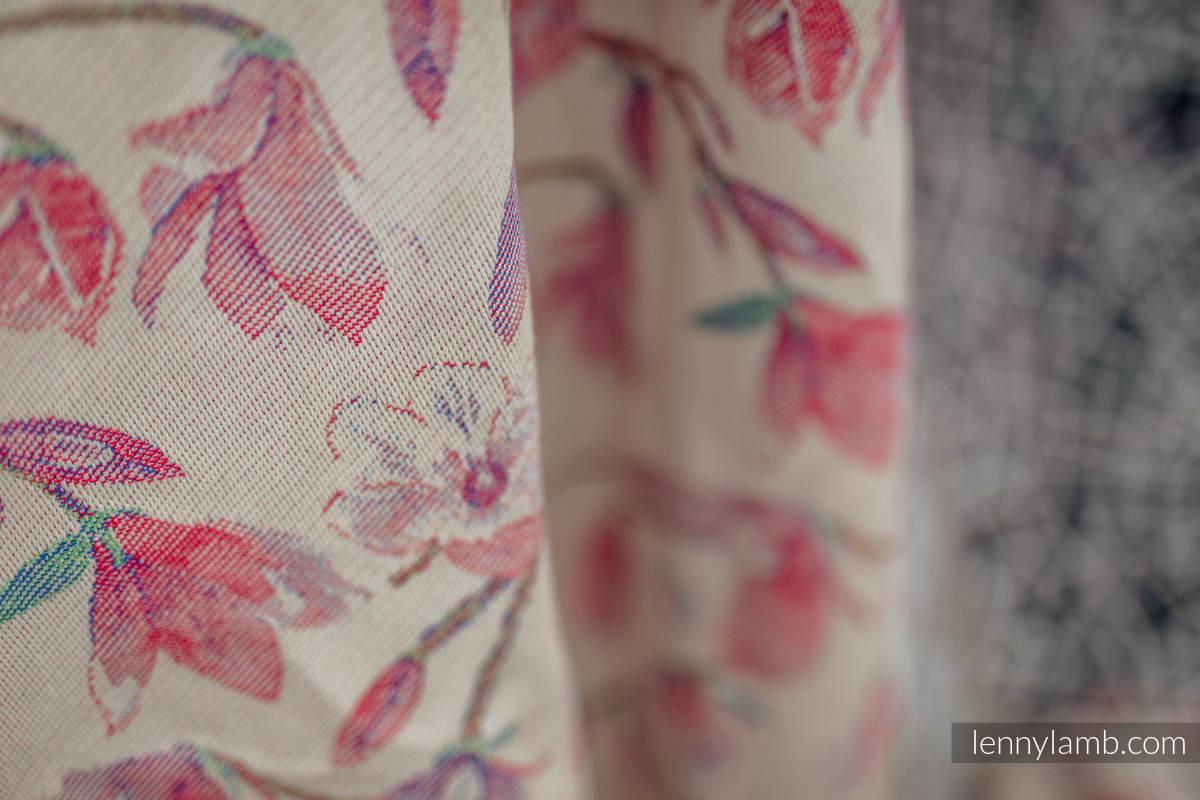 Żakardowa chusta do noszenia dzieci, 100% bawełna - MAGNOLIA - rozmiar L #babywearing