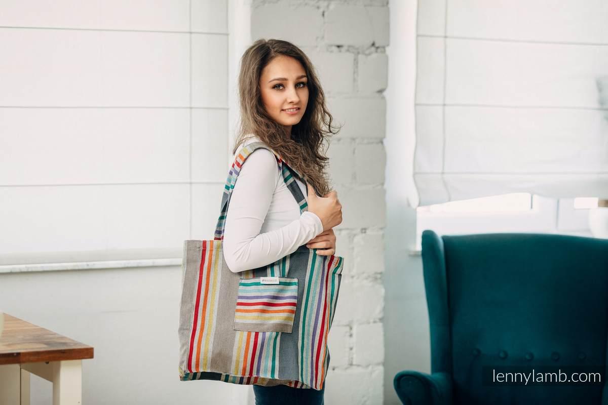 Shoulder bag made of wrap fabric (100% cotton) - OASIS #babywearing