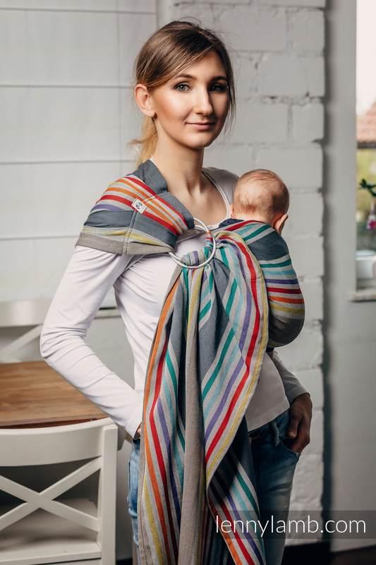Ringsling, Broken twill Weave (100% cotton) - OASIS- standard 1.8m #babywearing