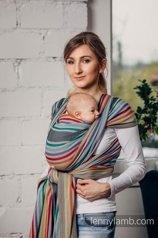 Écharpe, sergé brisé (100 % coton)  - OASIS - taille S #babywearing