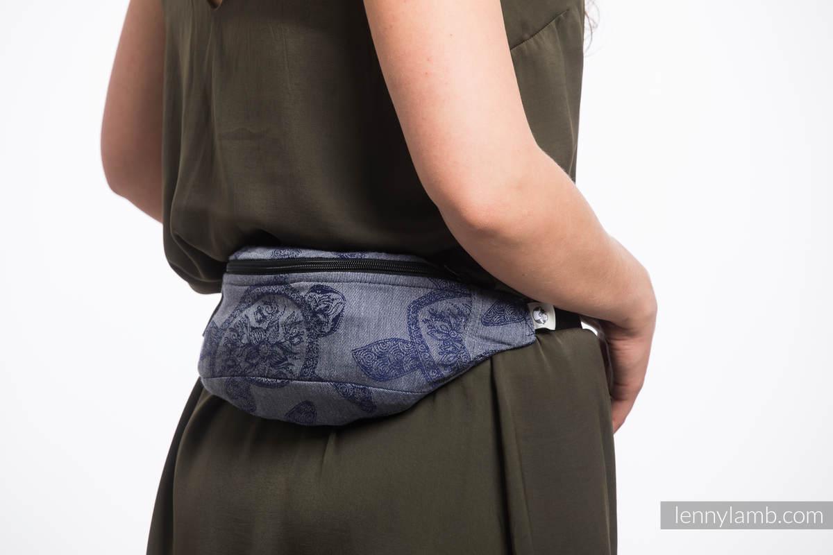 Waist Bag made of woven fabric, (100% cotton) - SEA ADVENTURE - CALM BAY #babywearing
