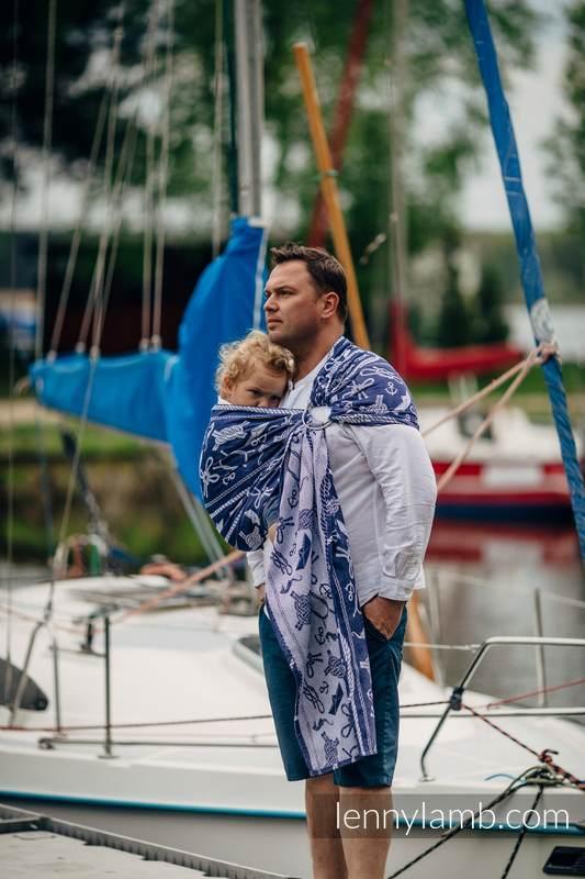 Ringsling, Jacquard Weave (100% cotton) - SEA STORIES #babywearing