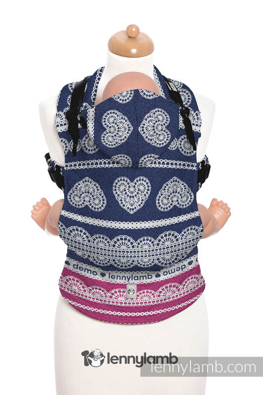 Ergonomic Carrier, Baby Size, jacquard weave 100% cotton - wrap conversion from FOR PROFESSIONAL USE EDITION - LACE 1.0, Second Generation #babywearing