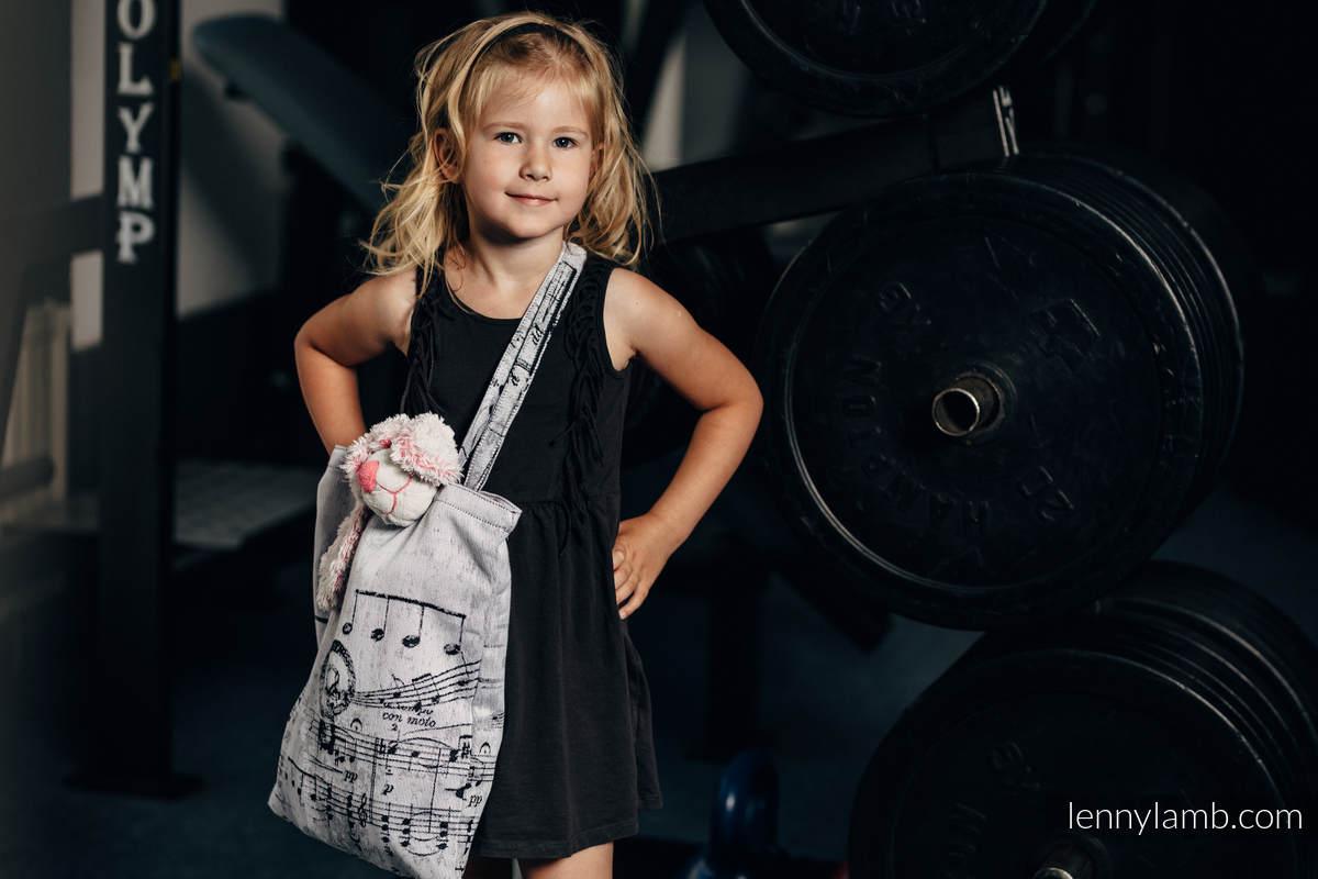 Einkaufstasche, hergestellt aus gewebtem Stoff (100% Baumwolle) - SYMPHONY CLASSIC #babywearing