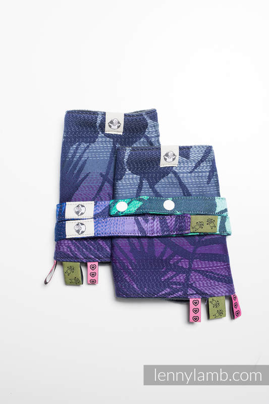 Drool Pads & Reach Straps Set, (60% cotton, 40% polyester) - HIDDEN VALLEY #babywearing