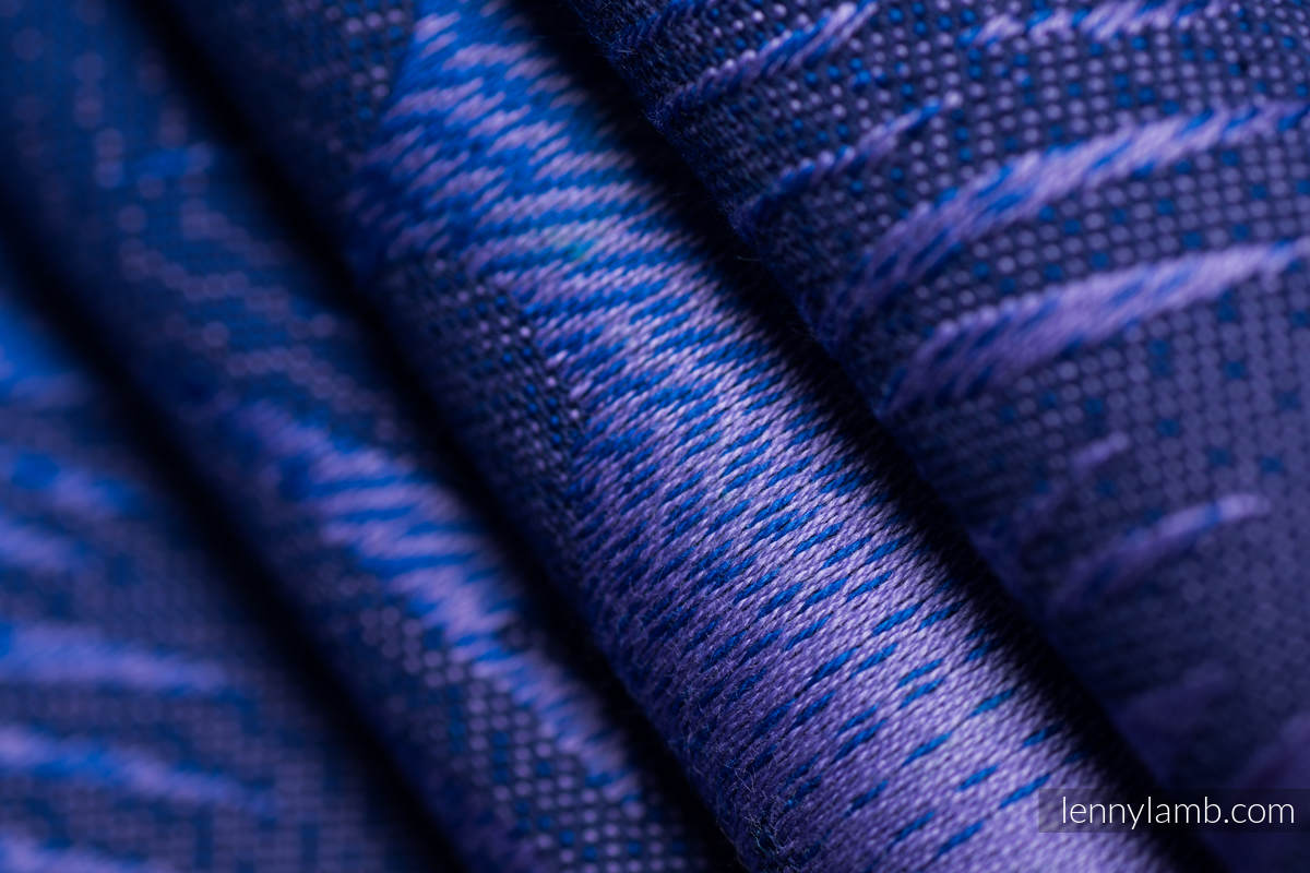 Baby Wrap, Jacquard Weave (100% cotton) - HIDDEN VALLEY - size S #babywearing